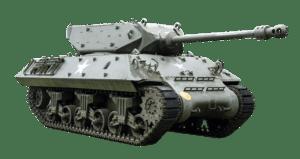 un char d'assaut pour représenter la guerre contre les limaces