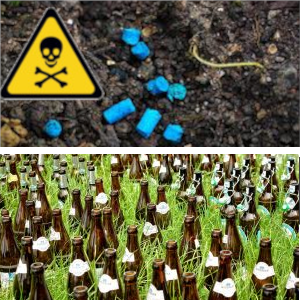 les granulés anti limaces et les pièges à bières sont dangereux et toxiques