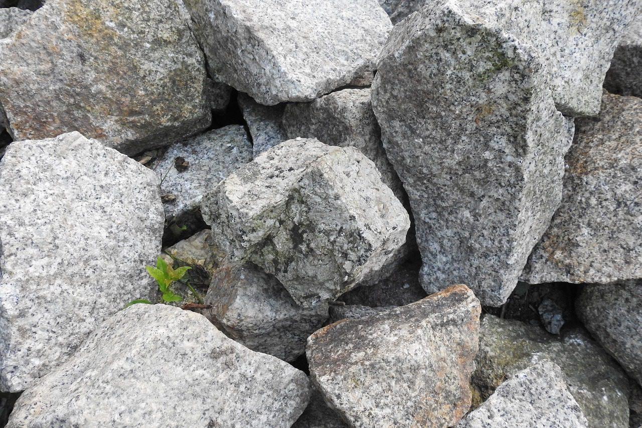 un tas de pierres offre de nombreux abris aux amphibiens prédateurs des limaces