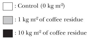 marc de cafe pour plantes au jardin