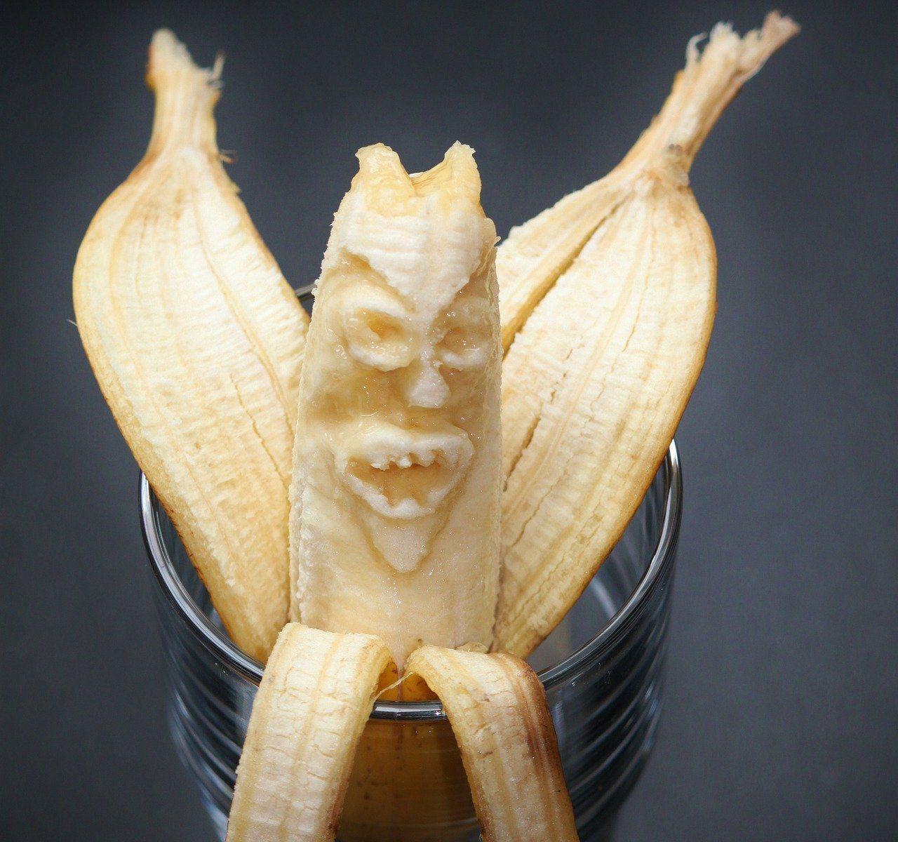 peau de banane comme engrais au jardin
