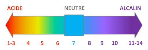 le pH de a cendre dans le jardin