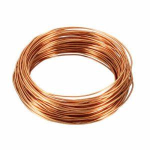 le fil de cuivre comme barrière aux limaces